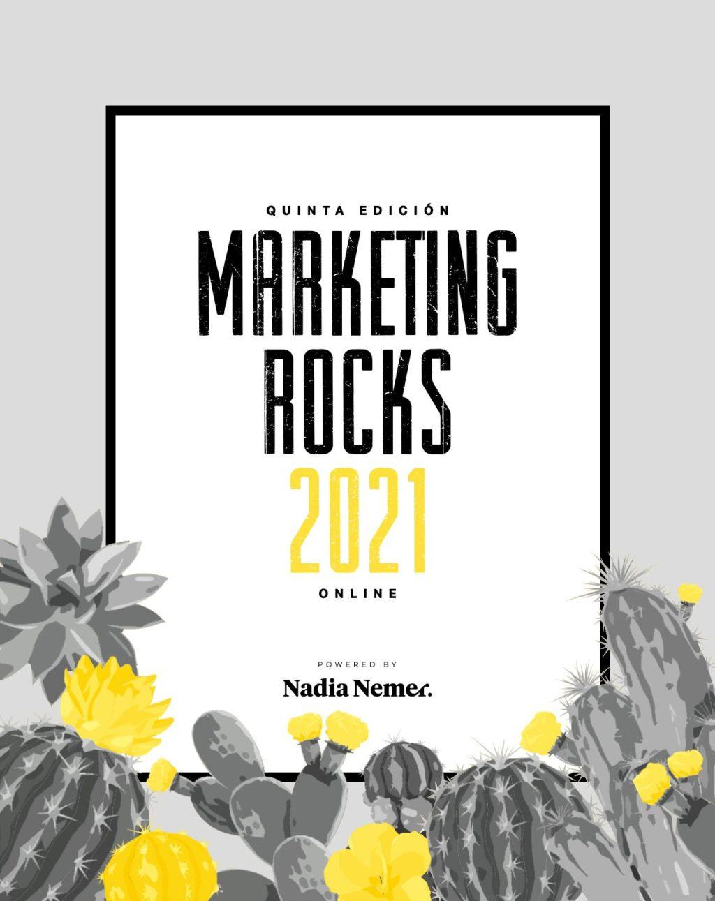 Foto de Cartel Evento Marketing Rocks 2021