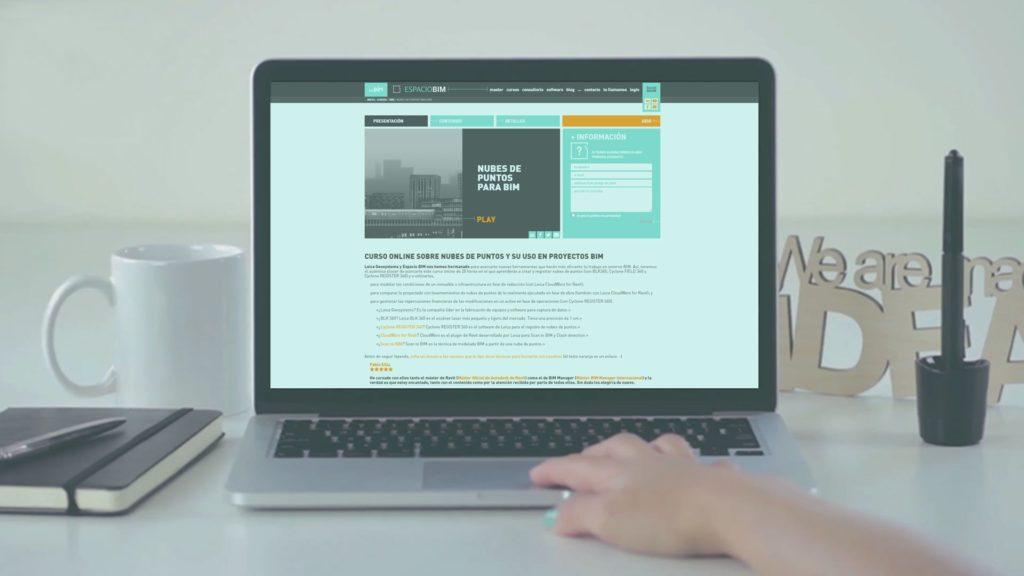 Foto de 'Nubes de Puntos para BIM', el curso en línea fruto de