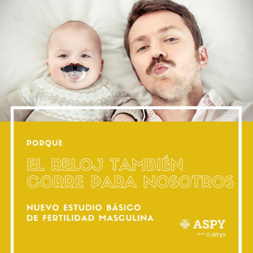 Foto de Estudio de fertilidad masculina de ASPY en Barcelona