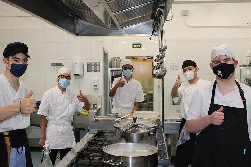 Foto de Jóvenes cocineros