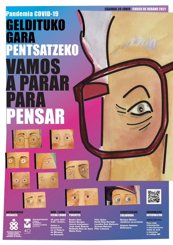 Foto de Cartel del Curso de Verano organizado por el COEGI.